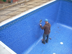 special care with pool liner
